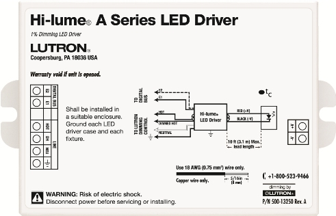 product monday hi lume dimming driver by lutron