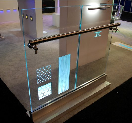 Product Monday Led Illuminated Structural Glass By