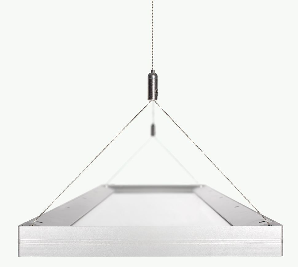 Product monday led suspended luminaire by ge lighting for Suspente luminaire